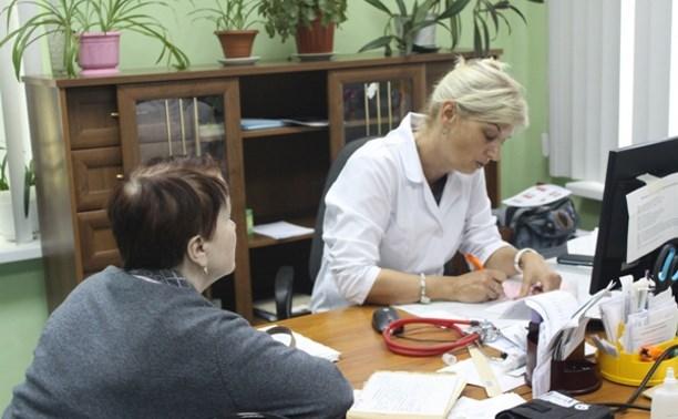«Выездная поликлиника» провела прием жителей Большой Тулы