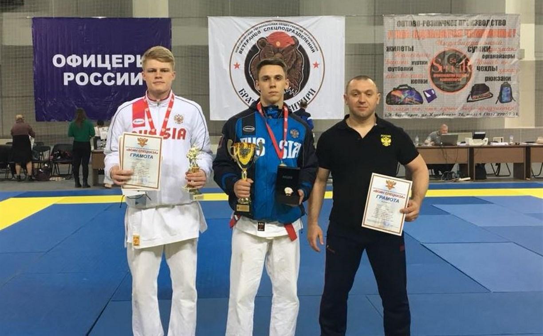 Тульские рукопашники привезли два золота из Новосибирска