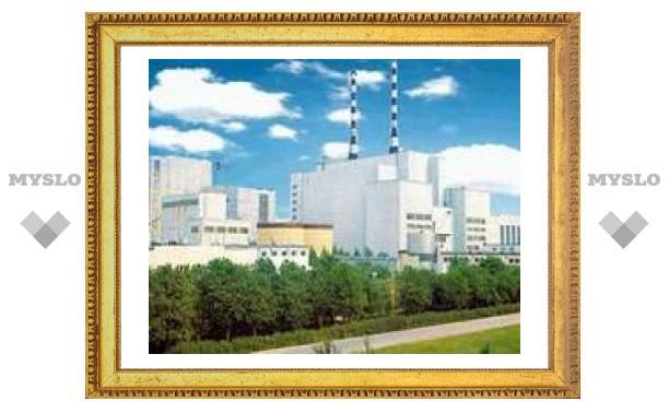 В Белоярскую АЭС попала молния