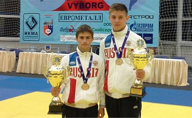 Туляки завоевали два золота на мировом первенстве по рукопашному бою