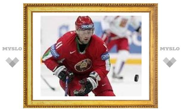 Белоруссия вышла во второй этап чемпионата мира по хоккею