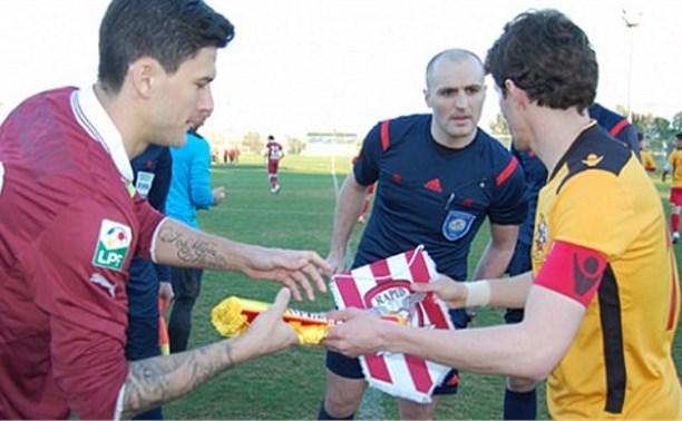 «Арсенал» уступил в контрольном матче бухарестскому  «Рапиду»