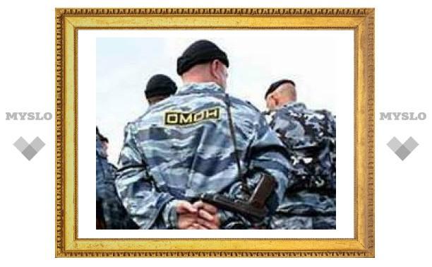 Тульских милиционеров поздравили в Чечне