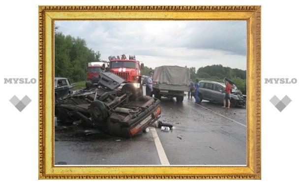 """В ДТП на трассе """"Крым"""" погибли двое взрослых и ребенок"""