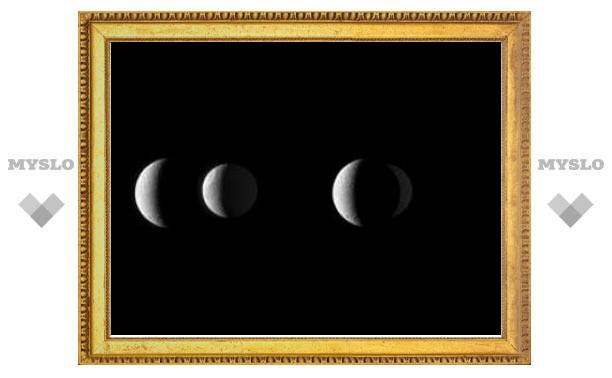"""""""Кассини"""" сфотографировал минутное затмение юпитерианской луны"""
