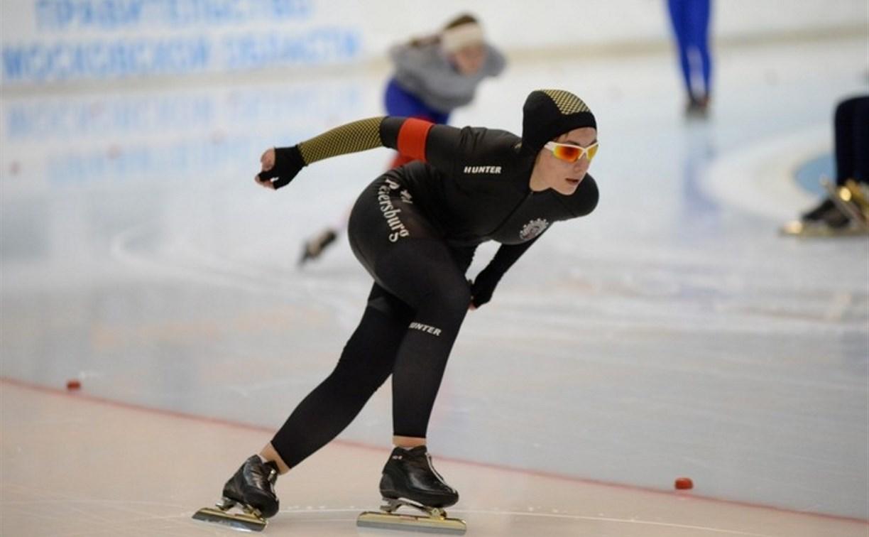 Тульский конькобежец занял первое место на соревнованиях в Московской области