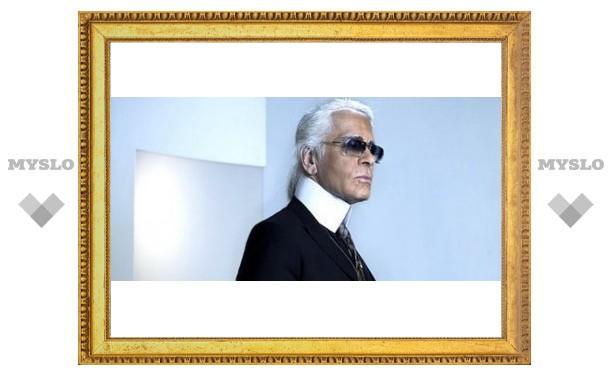 Karl Lagerfeld стал куклой