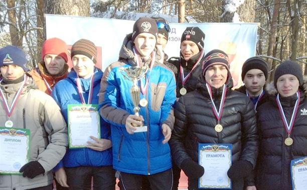 В Алексине прошла лыжная гонка памяти Курбатова