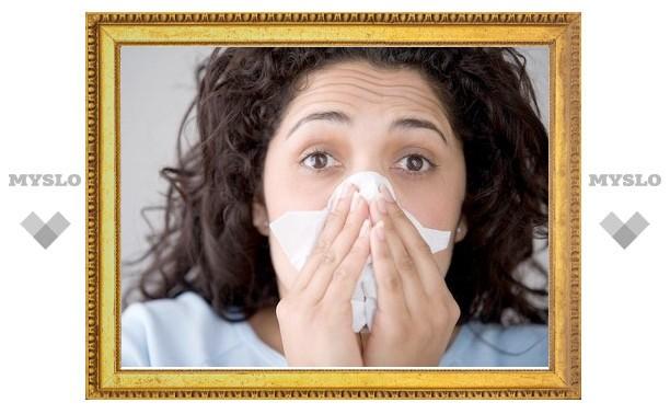 В Туле за неделю ОРВИ заболели больше 2200 человек