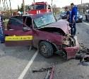 В ДТП на Московском шоссе в Туле погиб водитель такси
