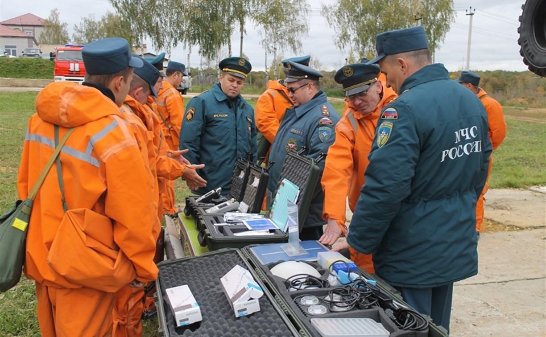 В Тульской области стартовали учебные сборы МЧС России