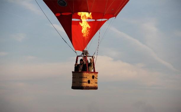 Новомосковск освятили с борта воздушного шара