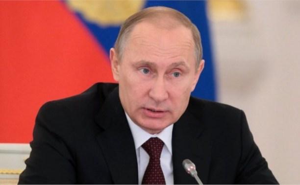 Владимир Путин подписал Указ о награждении туляков