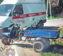 В Туле в ДТП с мотороллером пострадали два человека