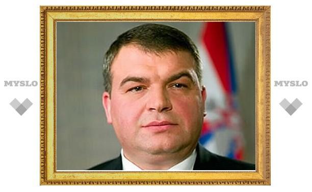 Тулу посетил министр обороны России Анатолий Сердюков