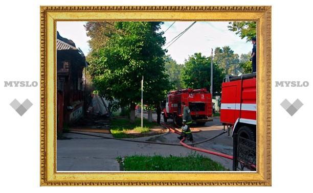 Пожар на улице Свободы потушили