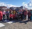 В Туле прошла спортивная акция «10000 шагов к жизни»