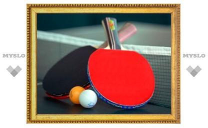 В Туле проходит финал чемпионата области по настольному теннису