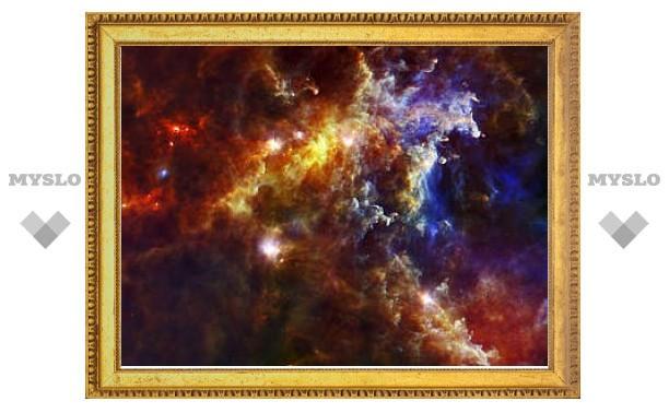 В космической Розетке обнаружили новорожденные звезды