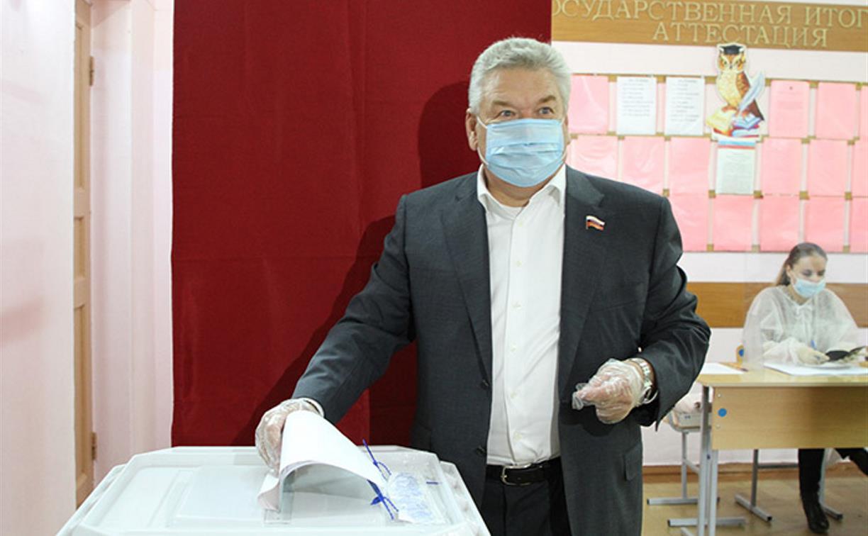 Николай Воробьев: «Уверен, что жители Тульской области с полной ответственностью отнесутся к участию в голосовании»