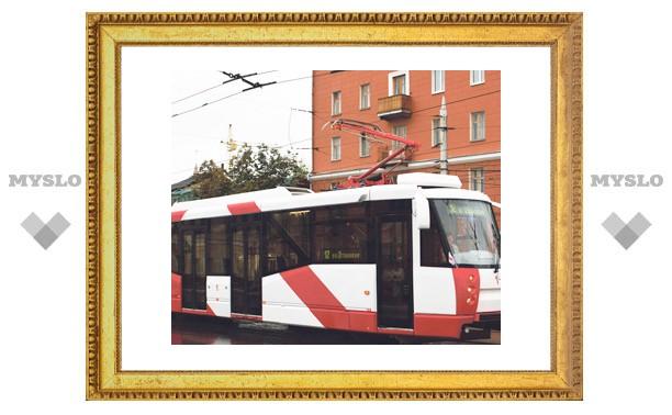 Новые низкопольные трамваи появятся на дорогах Тулы ко Дню города