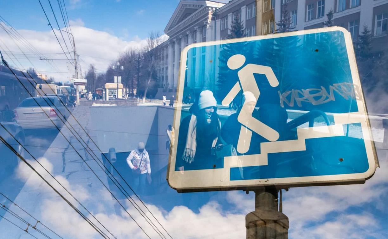 В Туле реконструируют два пешеходных перехода