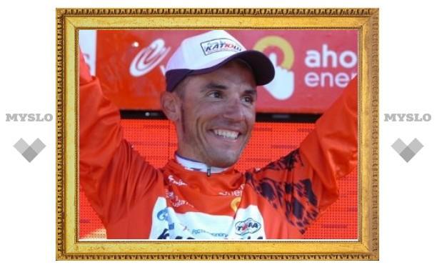 Велогонщик российской команды возглавил мировой рейтинг