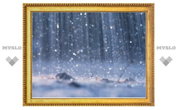 Тулу ждут дождливые праздники