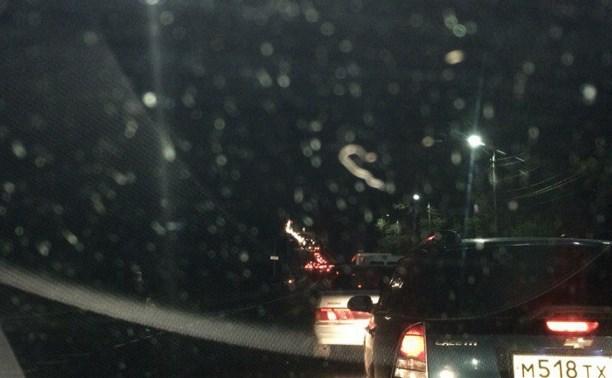 На Орловском шоссе зафиксировано три аварии