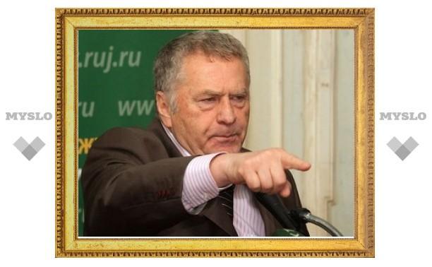 Жириновский возмутился засильем единоросов в СМИ