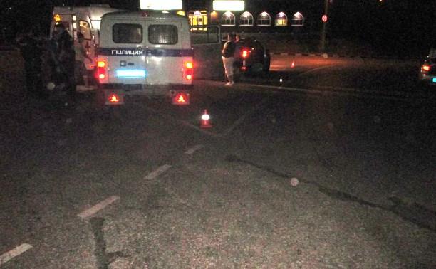 В Ефремове «Рено» сбил пешехода