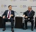 Владимир Груздев на Петербургском международном форуме выступил в защиту бизнеса
