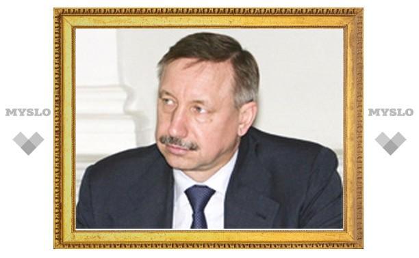 21 февраля Тулу посетит заместитель руководителя администрации Президента Александр Беглов