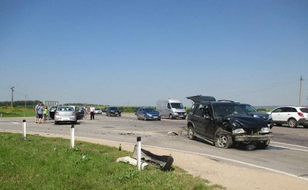 За выходные в ДТП на тульских дорогах пострадали четыре ребенка