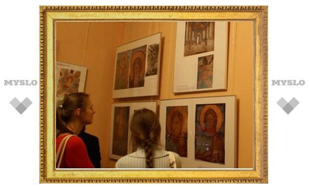 В ГосНИИР проходит выставка, посвященная завершению реставрации фресок Дионисия в Ферапонтовом монастыре