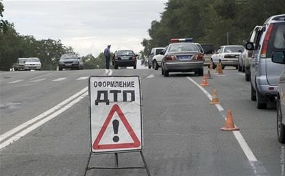 В Тульской области автобус попал в ДТП