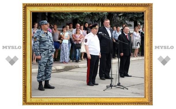 39 тульских полицейских отправились в командировку на Северный Кавказ