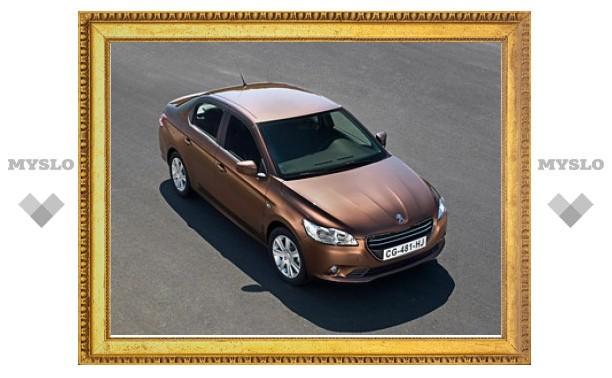Названа дата начала российских продаж нового седана PeugeotНовинкиPeugeot301