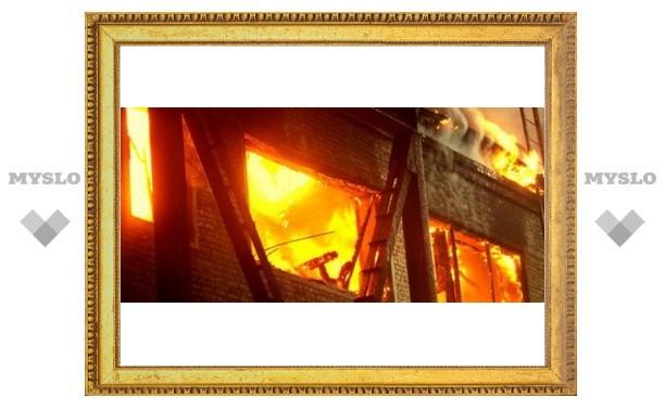 В Туле ужасный пожар