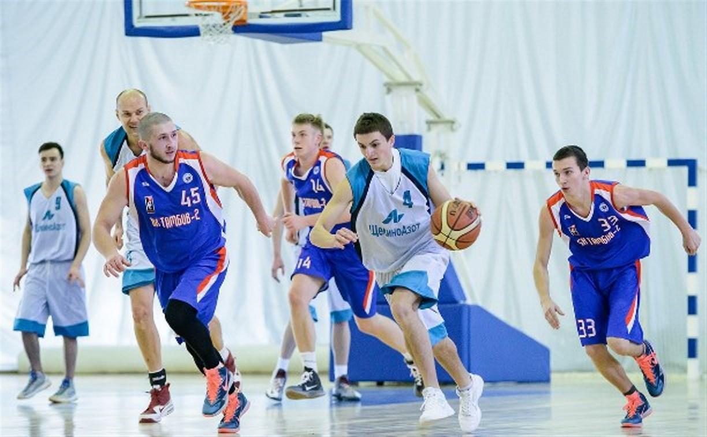 Тульские баскетбольные команды уверенно разобрались с аутсайдерами