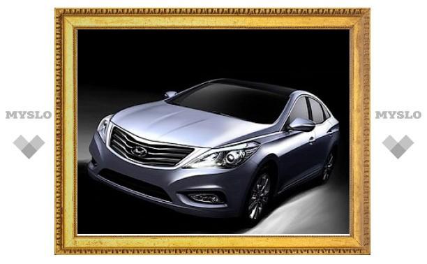 Рассекречена внешность седана Hyundai Grandeur нового поколения