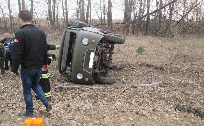 В Тульской области разбился «бесправный» водитель УАЗа
