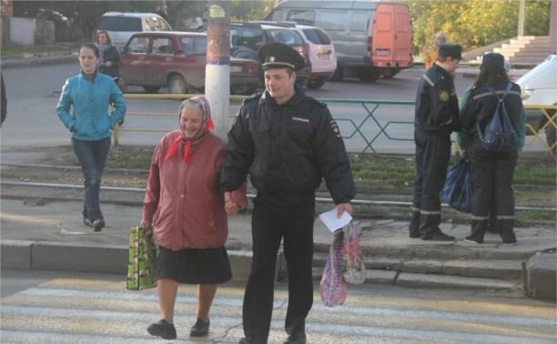 ГИБДД поздравила пенсионеров с Днём пожилых людей