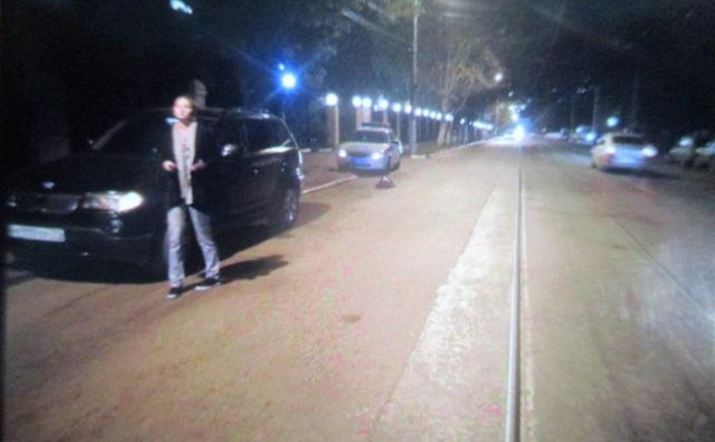 В Туле водитель на БМВ на тротуаре сбил 7-летнего велосипедиста