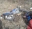 В Кимовском районе разбилась семья мотоциклистов