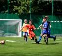 В Туле открыли футбольное поле с искусственным покрытием