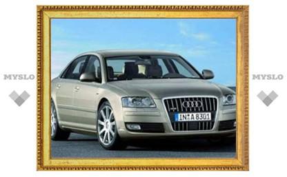 Audi представила обновленный седан A8