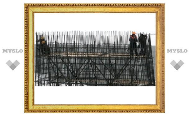Алексинский мост за полтора миллиарда рублей строят в три смены