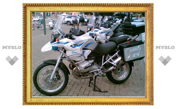 Тульские гаишники будут патрулировать на мотоциклах BMW