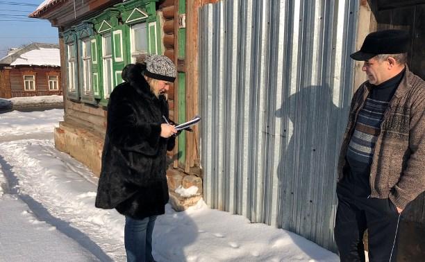 В Туле проверяют состояние фасадов частных домов: что нашли в Пролетарском округе?